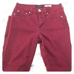 Red/ Maroon Aeropostale Jeans